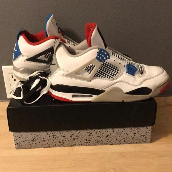 Jordan 4s, What the